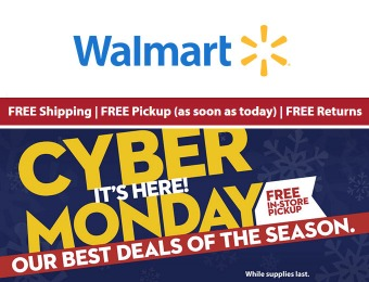 Cyber Monday Sale - Walmart's Best Deals of the Season!