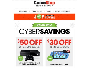 Game Stop Cyber Monday Sale - See the Online Deals Now