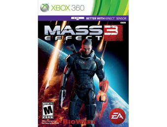 60% off Mass Effect 3 Xbox 360 Video Game