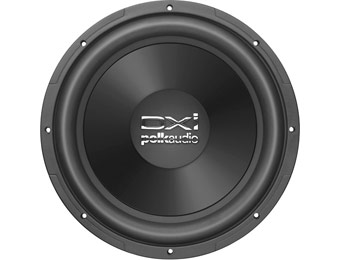 "$62 off Polk Audio DXi124 DVC 12"" Dual-Voice-Coil 4-Ohm Subwoofer"