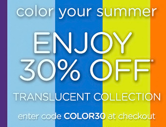 30% off Translucent Collection w/ Crocs Coupon Code COLOR30
