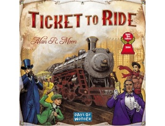 48% off Ticket To Ride Strategy Board Game
