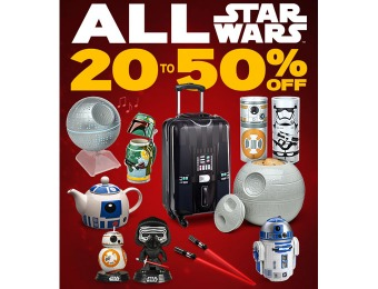 Extra 20% - 50% off All Star Wars Merchandise at ThinkGeek