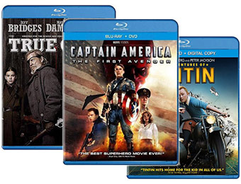 85% off select Blu-Ray Movies - Only $10 Each