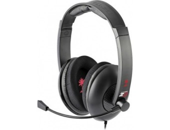76% off Turtle Beach Ear Force Z11 Amplified Gaming Headset, Red