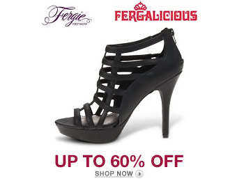 Up to 60% off Fergalicious & Fergie Women's Shoes