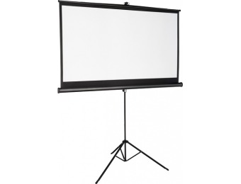 "$70 off Insignia 75"" Tripod Projector Screen"