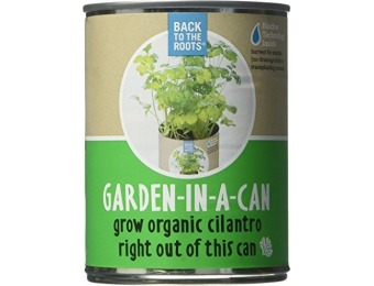 78% off Back To The Roots Garden in a Can Grow Organic Cilantro, 2 Ct