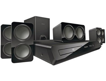 $52 off Philips HTS3531/F7 5.1-CH DVD Home Theater System