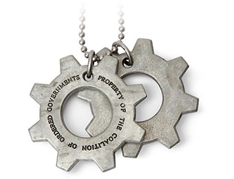 75% off Gears of War COG Tags
