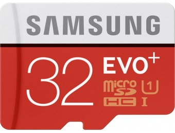 60% off Evo+ 32GB microSDHC Memory Card MB-MC32DA/AM