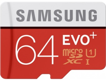 54% off Evo+ 64GB microSDHC Memory Card MB-MC64DA/AM