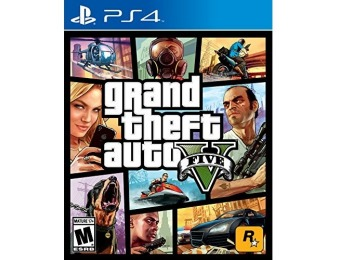 50% off Grand Theft Auto V - PlayStation 4
