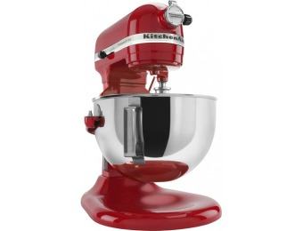 60% off Kitchenaid KV25G0X Pro 5 Plus Series Stand Mixer, Empire Red