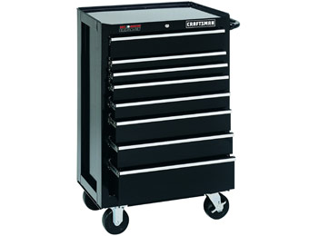 "$182 off Craftsman 26"" 8-Drawer Griplatch Bottom Tool Chest"