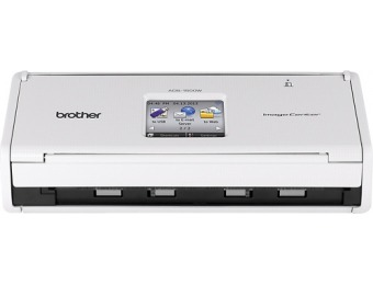 $150 off Brother ADS-1500W Wireless Color Scanner with Duplex