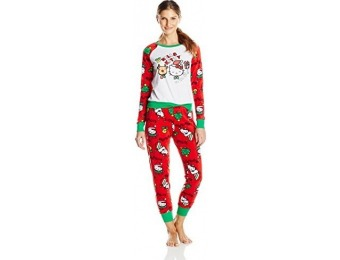 69% off Hello Kitty Women's Ugly Holiday Pajama Set