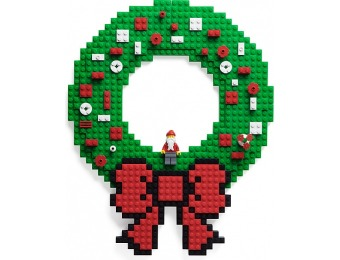 65% off Build On Brick Holiday Wreath