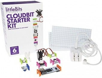 35% off littleBits Electronics cloudBit Starter Kit