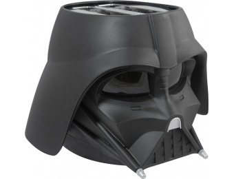 40% off Pangea Brands Star Wars Darth Vader 2-slot Toaster - Black