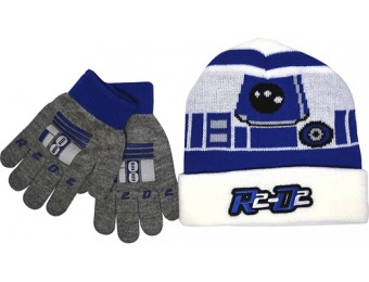 90% off Star Wars R2-D2 Stocking Cap And Gloves