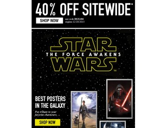 Extra 40% off Everything at Allposters.com