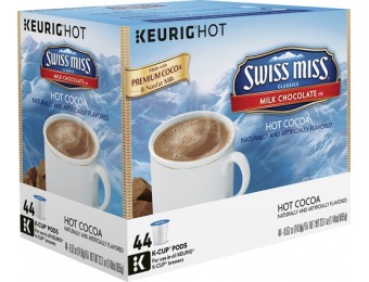33% off Swiss Miss Milk Chocolate Hot Cocoa K-cups (44-pack)