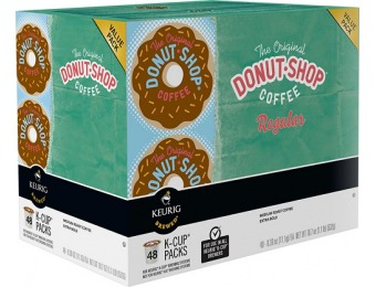 $10 off (48-pack) Keurig Donut Shop K-cups