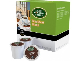 33% off Keurig Green Mountain Breakfast Blend K-cups (48-pack)