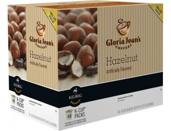 $10 off Keurig Gloria Jean's Hazelnut K-cups (48-pack)