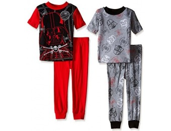 65% off Star Wars Big Boys Darth Vader 4-Pc Pajama Set