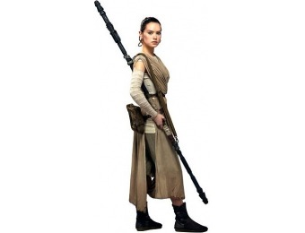 25% off Episode VII The Force Awakens Rey Cardboard Cutout