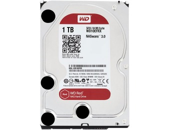 $15 off WD Red 1TB NAS Hard Drive WD10EFRX, w/code: EMCXPWW23