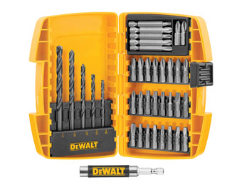 50% off DeWalt DWA2136TLW 37-Piece Drilling & Driving Set