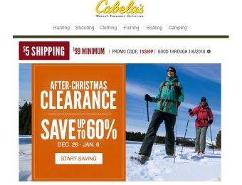 Cabala's After Christmas Clearance Sale - Up to 60% Off