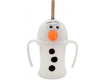 71% off Olaf Cup with Straw for Kids - Frozen
