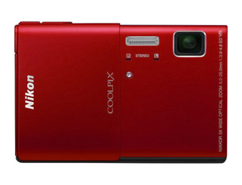 $170 off Nikon Coolpix S100 16MP Digital Camera with 5x Optical Zoom