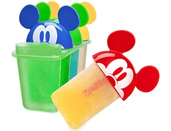 81% off Disney Mickey Mouse Ears Popsicle Molds, Set of Four