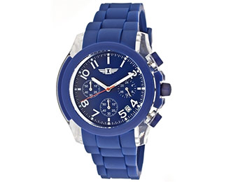 90% off I by Invicta Blue Dial Watch w/ code SUMMERWATCHES10