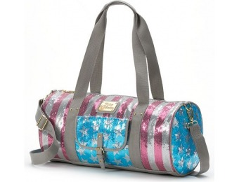 78% off Juicy Couture Patriotic Duffle Bag, Blue