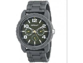 79% off Sprout Grey Corn Resin Strap Eco-Friendly Sport Wrist Watch