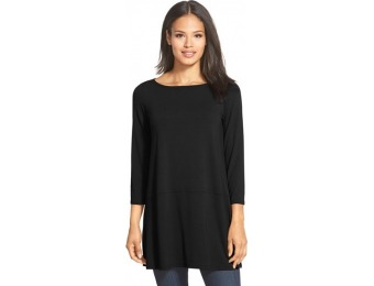 50% off Women's Eileen Fisher Bateau Neck Jersey Tunic