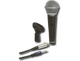 50% off Samson SCR21S Dynamic Vocal Microphone - Black