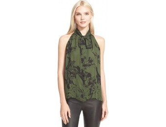 64% off Women's Parker 'Brantling' Sleeveless Print Silk Top