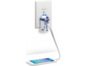 73% off Star Wars R2-D2 USB Wall Charger