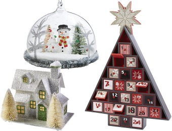 75-90% off Christmas Decorations at Home Decorators Collection