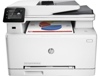 $150 off HP Laserjet Pro M277dw Wireless Color All-in-one Printer