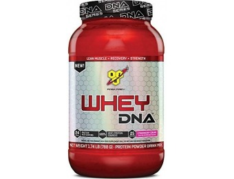 51% off BSN WHEY DNA, Strawberry Cream 1.74lb (25 servings)