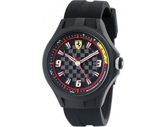 $93 off Ferrari 0830005 Pit Crew Black Men's Watch