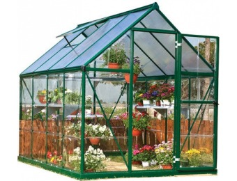 76% off Hybrid 6' x 8' Greenhouse